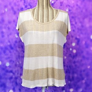 Soft Joie Striped Short Sleeve Tee